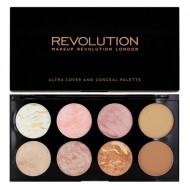 Палетка румян MakeUp Revolution ULTRA BLUSH PALETTE Golden Sugar