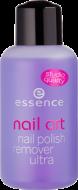 Жидкость для снятия лака Nail Art Nail Polish Remover Ultra Essence без ацетона: фото