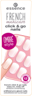 Накладные ногти на клейкой основе French Manicure Click & Go Nails Essence 03 girls just wanna have fun!: фото
