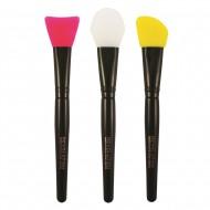 Набор силиконовых кистей для контурирования Silicone Contour Set Makeup Revolution: фото