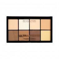 Пудровая палетка для контурирования Makeup Revolution HD Pro Powder Contour Fair: фото