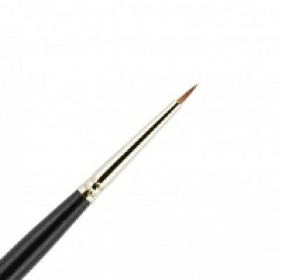 Кисть для подводки из волоса колонка №1-1 круглая 5мм VALERI-D: фото