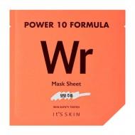 Омолаживающая листовая маска для лица с аденозином IT'S SKIN Power 10 Formula WR Mask Sheet: фото