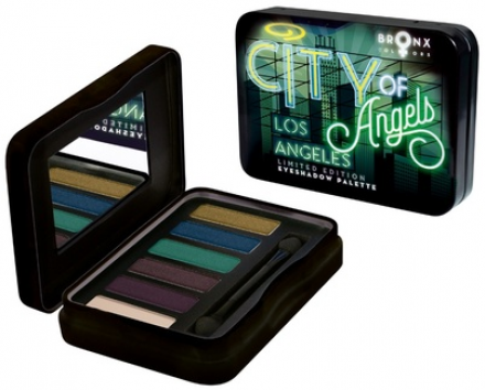 Палетка теней Bronx Colors Eyeshadow Pallette City of Angels: фото