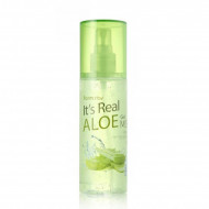 Гель-мист для лица с экстрактом алоэ FARMSTAY It's real gel mist aloe 120 ml: фото