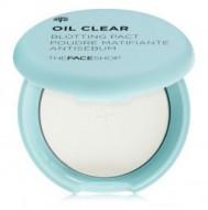 Пудра компактная против жирного блеска THE FACE SHOP Oil Clear Blotting Pact: фото