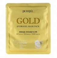 Маска гидрогелевая с золотом PETITFEE Gold hydrogel mask pack 32г: фото