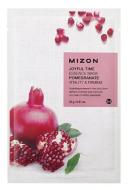 Отзывы Тканевая маска с гранатом MIZON Joyful Time Essence Mask Pomegranate