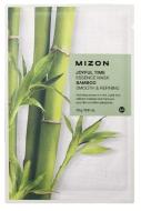 Отзывы Тканевая маска с бамбуком MIZON Joyful Time Essence Mask Bamboo 23г