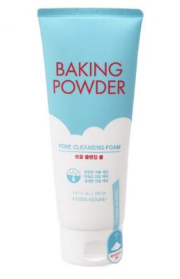 Пенка для умывания 3 в 1 с содой ETUDE HOUSE Baking Powder Pore Cleansing Foam 160мл: фото