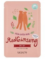 Тканевая маска с красным женьшенем SKIN79 Fresh garden mask red ginseng 23г: фото