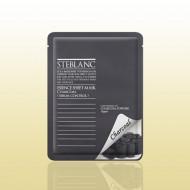 Маска абсорбирующая с древесным углем STEBLANC Essence sheet mask-charcoal: фото