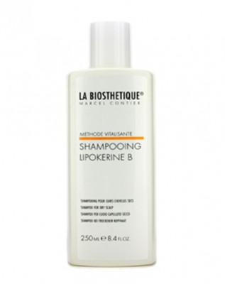 Шампунь для сухой кожи головы La Biosthetique Vitalisante Lipokerine B Shampoo For Dry Scalp 250мл: фото