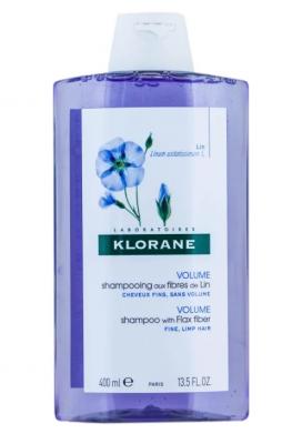 Шампунь с экстрактом Льняного волокна для объема Klorane Volume with Flax fiber 400 мл: фото