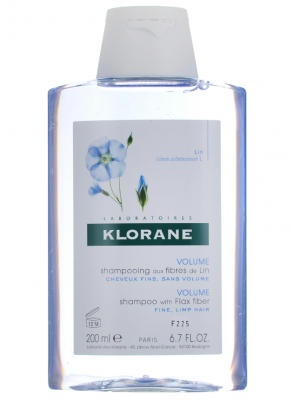 Шампунь с экстрактом Льняного волокна для объема Klorane Volume plump 200 мл: фото