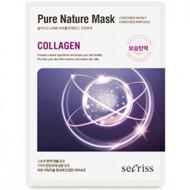 Маска для лица тканевая Anskin Secriss Pure Nature Mask Pack- Collagen 25мл: фото