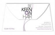 Масло энергетическое аргановое для волос KEEN ENERGY ARGAN HAIR OIL 7*5мл: фото