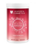 Скраб для тела с маслом из косточек клюквы Janssen Cosmetics Younger You Body Scrub 1000мл: фото