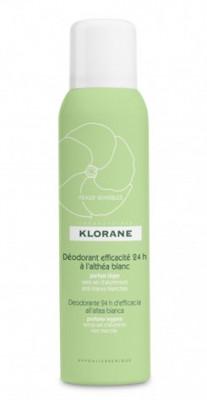 Дезодорант-спрей с белым алтеем 24 часа эффективности Klorane 125 мл: фото