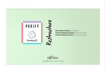 Лосьон интенсивный восстанавливающий Kaaral Purify-RESTRUCTURE Trattamento Intensivo12*10мл: фото