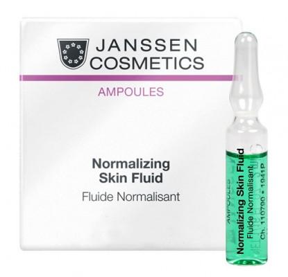 Концентрат нормализующий для жирной кожи Janssen Cosmetics Normalizing Skin Fluid 3*2мл: фото