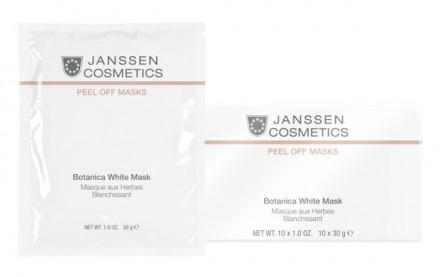 Маска осветляющая моделирующая Janssen Cosmetics Botanica White Mask 30г: фото