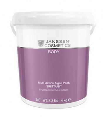 Микронизированные водоросли БРИТТАНИ Janssen Cosmetics Multi Action Algae Pack Brittany 4кг: фото