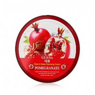 Крем массажный с экстрактом граната DEOPROCE PREMIUM CLEAN & MOISTURE POMEGRANATE MASSAGE CREAM 300g 300гр: фото