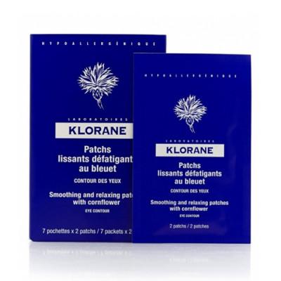 Маска-компресс успокаивающая для контура глаз Klorane Eye Care Range 7*2 мл: фото