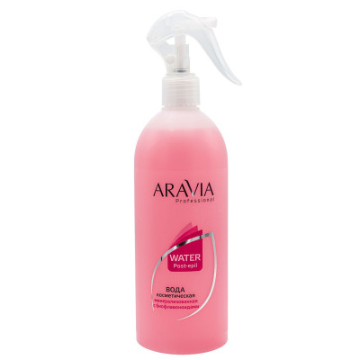 Вода косметическая минерализованная с биофлавоноидами Aravia Professional 500 мл: фото