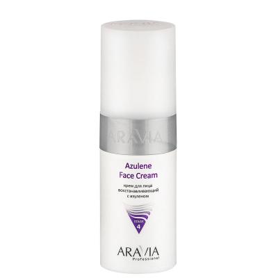 Крем для лица восстанавливающий с азуленом Aravia professional Azulene Face Cream 150 мл: фото