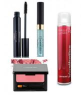 Набор в тубе La Biosthetique Beauty Box Суббота: Care & Fix Lash Conditioner (5 мл), Perfect Volume Black (8 мл), Lips & Cheeks Daily Rose (3,2 г), Formule Laque ultra Strong (75 мл): фото