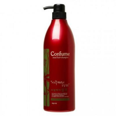 Шампунь для волос c касторовым маслом Welcos Confume Total Hair Shampoo 950мл: фото