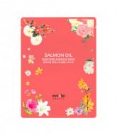 Маска для лица тканевая Eyenlip SALMON OIL MOISTURE ESSENCE MASK 25мл: фото
