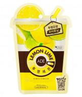 Маска для лица освежающая витаминная Mediheal Lemon Ade Mask 25мл: фото