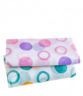 Мочалка для душа Sungbo Cleamy (28х95) Circle Shower Towel 1шт: фото