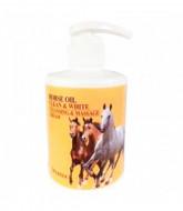 Крем для тела массажный очищающий с лошадиным жиром DEOPROCE HORSE OIL CLEAN & WHITE CLEANSING & MASSAGE CREAM 450мл: фото