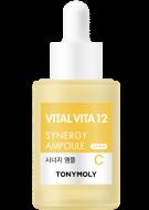 Сыворотка с витамином С для лица комплексного действия Tony Moly Vital Vita 12 Synergy Ampoule: фото