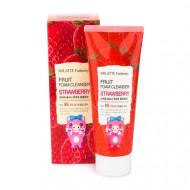 Пенка для умывания Milatte Fashiony Fruit Foam Cleanser Strawberry Клубника, 150 мл: фото