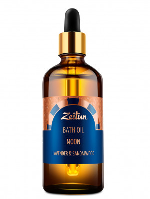 "Масло для ванны Zeitun ""Луна"" с ароматом лаванды и сандала, 100 мл: фото"