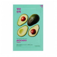 Маска тканевая смягчающая Holika Holika PURE ESSENCE авокадо, 20 мл: фото