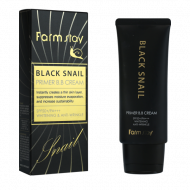 BB-крем с муцином черной улитки FarmStay Black Snail Primer B.B Cream SPF50+/PA+++ 50г: фото