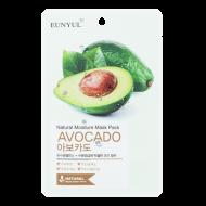 Тканевая маска с экстрактом авокадо EUNYUL NATURAL MOSTURE MASK PACK AVOCADO 22мл: фото