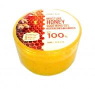 Многофункциональный гель с мёдом LEBELAGE Moisture Honey Purity 100% Soothing Gel: фото