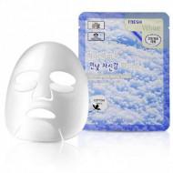 Тканевая маска для лица с ниацинамидом 3W CLINIC Fresh White Mask Sheet: фото