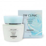 Осветляющий крем для лица 3W CLINIC Excellent White Cream: фото