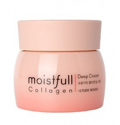 Крем с коллагеном глубоко увлажняющий Etude House Collagen Moistfull Collagen Deep Cream 75мл: фото