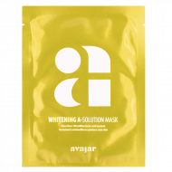 Маска осветляющая тканевая для лица Avajar Whitening A-Solution Mask 10 шт: фото