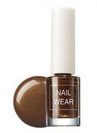 Лак для ногтей THE SAEM Nail wear 17. Brown turtleneck 7мл: фото