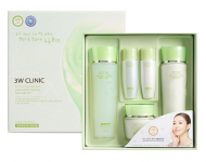 Набор для лица УЛИТОЧНЫЙ МУЦИН 3W CLINIC Snail Moist Control Skin Care 3 SET: фото